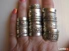 Antyk stare srebrne pierścionki -/obraczki sygnet Nowy Sącz