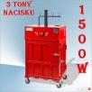 Hydrauliczna prasa do śmieci o nacisku 3 ton. Zasilanie 230V Nozdrzec