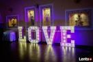 Napis LOVE | Litery na Ślub Wesele Gdynia Gdańsk Trójmiasto Gdańsk
