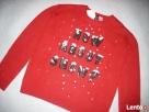 H&M Uroczy Sweter Motyw Śniegu Cekiny NOWY 36 S XS - 2