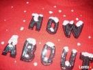 H&M Uroczy Sweter Motyw Śniegu Cekiny NOWY 36 S XS - 5