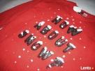 H&M Uroczy Sweter Motyw Śniegu Cekiny NOWY 36 S XS - 7
