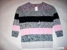 H&M Sweter Tunika Szary Pudrowy NOWY 40 42 L XL