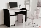 Nowoczesne biurko komputerowe Detalion dwu kolorowe Katowice