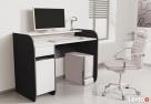 Nowoczesne biurko komputerowe dwu kolorowe Detalion - 4