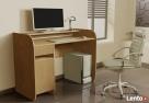 Nowoczesne biurko komputerowe Detalion dwu kolorowe - 7