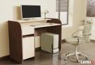 Nowoczesne biurko komputerowe dwu kolorowe Detalion - 3