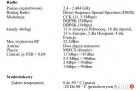 Karta sieciowa WiFi Senao - do laptopa na PCMCIA + konektor - 3