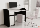 Nowoczesne biurko komputerowe dwu kolorowe Detalion - 2