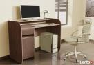 Nowoczesne biurko komputerowe dwu kolorowe Detalion - 7