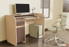 Nowoczesne biurko komputerowe Detalion dwu kolorowe - 3