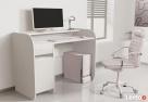 Nowoczesne biurko komputerowe Detalion dwu kolorowe - 4