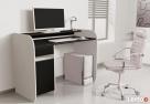 Nowoczesne biurko komputerowe dwu kolorowe Detalion - 1