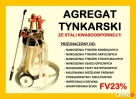 AGREGAT DO TYNKOWANIA GIPSOWANIA MALOWANIA ŚCIAN - 1