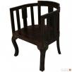 drewniane krzesło z palisandru indyjskiego meble kolonialne Limanowa