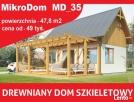 Szkieletowy dom drewniany Domek całoroczny lub letniskowy Rzeszów