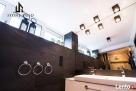 Płytki kamienne czarne 30x60x1,2cm do łazienki, salonu - 6