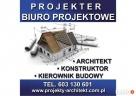 Projekt budynków, architekt, kierownik budowy, kontruktor