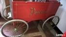 pop corn-wózek czterokołowy z maszyną Firlej