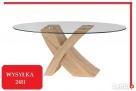 STOLIK DO KAWY ława stolik kawowy SLANT szkło hartowane - 1