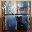 Zegar z kotem chodzący do tyłu Kościerzyna