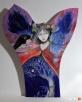 Obraz na drewnie ANIOŁ MAGICZNY 2 artystki A. Laube - 1