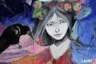 Obraz na drewnie ANIOŁ MAGICZNY 2 artystki A. Laube - 3