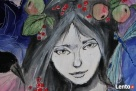 Obraz na drewnie ANIOŁ MAGICZNY 2 artystki A. Laube - 8