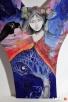 Obraz na drewnie ANIOŁ MAGICZNY 2 artystki A. Laube - 5