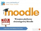 Platforma Moodle do wynajęcia