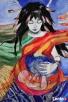 Anioł malowany na drewnie ANIOŁ DOULI artystki A. Laube - 5