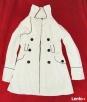 Płaszcz marynarka żakiet Attenitf roz. 36 S biały Kraśnik