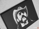 Lemmy Motorhead- Obraz grawerowany ręcznie na blasze... - 3