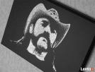 Lemmy Motorhead- Obraz grawerowany ręcznie na blasze... - 4