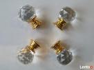 Gałka meblowa kryształowa 20 mm Dobrzeń Wielki