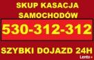 Złomowanie samochodów skup tel501-525-515 kasacja całodobow - 2