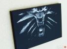 Wiedźmin - Obraz wykonany ręcznie metodą grawerowania... - 2