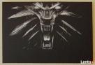 Wiedźmin - Obraz wykonany ręcznie metodą grawerowania... Sandomierz