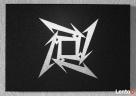 Metallica - logo - Obraz ręcznie grawerowany na blasze... - 1