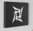 Metallica - logo - Obraz ręcznie grawerowany na blasze... - 2