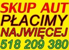 SKUP AUT za gotówkę KRAKÓW 518 209 380 AUTO SKUP SAMOCHODÓW