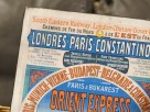 STARE PLAKATY NA DESCE_Orient Express 1888 R. - 2