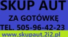 Skup Aut Nowy Dwór Gdański t.505964223 Stegna,Jantar,Elbląg - 1