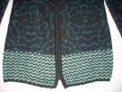 AMISU Ciepły Morski Sweter Długi Grubszy NOWY XS S - 5