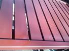 Przęsła ogrodzeniowe palisada profile poziome 80x20, 100x20,