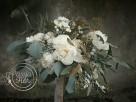Bukiety ślubne z białych kwiatoów - 1