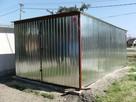Garaż z zadaszeniem bocznym - Altanka lub inna konstrukcja .