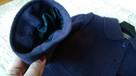 Wełniany płaszczyk śliwka 40 - 5