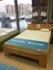 Drewniane łóżko MANCHASTER 3