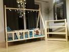 Łóżeczko TIPI 160 cm x 80 cm skandynawski łóżko